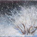 Poussières d'étoiles Acrylique / toile 6 po x 24 po