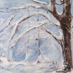 Mon arbre Acrylique / toile 20 po x 16 po