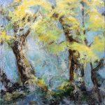 Collection printemps Acrylique / toile 10 po x 10 po